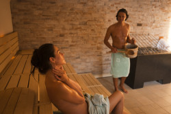 Sauna in der Familientherme