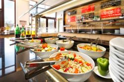Salatbuffet im Asia Spa