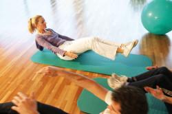 Gymnastikprogramm in der Alpentherme Gastein