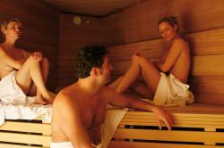 Saunieren in der Alpentherme Gastein