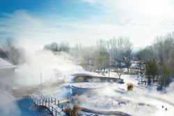Rottal Terme - Luftbild Thermenbach