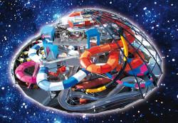 Die Galaxy-Rutschenwelt der Therme Erding